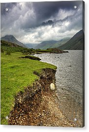 Lake District England Waswater Acrylic Print by Tom  Wray