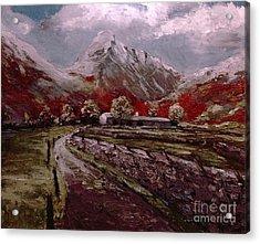 Lake District Great Gable Acrylic Print