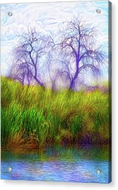 Lake Dream Peace Acrylic Print