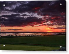 Lake Dumbleyung Sunset Acrylic Print