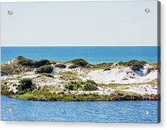 Lake Dunes Gulf Sky Acrylic Print