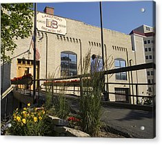 Lake Front Brewery Acrylic Print by Peter Skiba