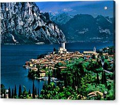 Lake Garda Acrylic Print