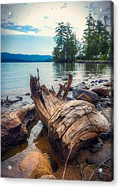 Acrylic Print featuring the photograph Lake George Palette by Kendall McKernon