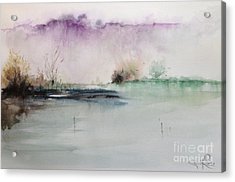 Lake Acrylic Print by Gianni Raineri