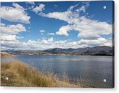 Acrylic Print featuring the photograph Lake Granby -- The Third-largest Body Of Water In Colorado by Carol M Highsmith