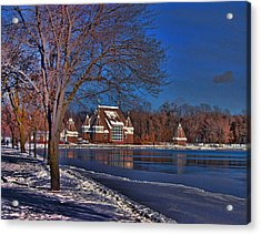 Lake Harriet Bandshell Acrylic Print by Laurie Prentice