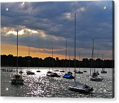 Lake Harriet I Acrylic Print by David Ritsema