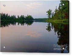Lake Harriet Tranquility Acrylic Print