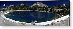 Lake Helen Lassen  Acrylic Print by Peter Piatt