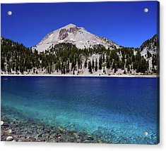 Acrylic Print featuring the photograph Lake Helen Mount Lassen 2 by Frank Wilson