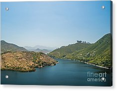 Lake Hodges Acrylic Print