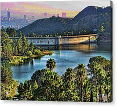 Lake Hollywood Acrylic Print