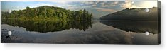 Lake Hope Sunrise Panorama Acrylic Print