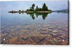 Lake Huron Island Acrylic Print