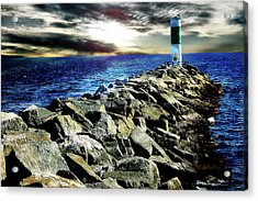 Lake Huron Lighthouse Acrylic Print