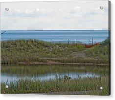Acrylic Print featuring the photograph Lake Huron by Tara Lynn