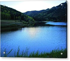 Acrylic Print featuring the photograph Lake In Colorado by Tammy Sutherland