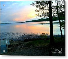 Lake In Virginia Acrylic Print