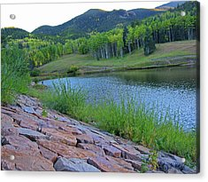Acrylic Print featuring the photograph Lake Isabel Colorado by Tammy Sutherland