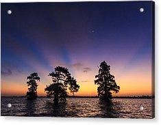 Lake Istokpoga Sunrise Acrylic Print