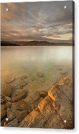 Lake Jocassee 17 Acrylic Print by Derek Thornton