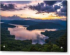 Lake Jocassee Sunset Acrylic Print