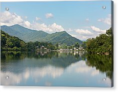 Acrylic Print featuring the photograph Lake Junaluska #1 - September 9 2016 by D K Wall