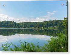 Acrylic Print featuring the photograph Lake Junaluska #3 September 9 2016 by D K Wall