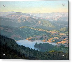 Lake Lagunitas Acrylic Print