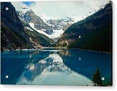 Lake Louise 1783  Acrylic Print by Larry Roberson