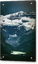 Acrylic Print featuring the photograph Lake Louise At Distance by William Lee