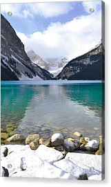 Lake Louise Beauty Acrylic Print by Andrea Hazel Ihlefeld