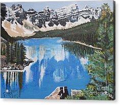 Lake Louise  Acrylic Print by Francine Heykoop