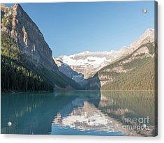 Lake Louise Acrylic Print by Rod Jones
