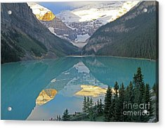 Lake Louise Sunrise Acrylic Print