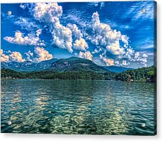 Lake Lure Beauty Acrylic Print
