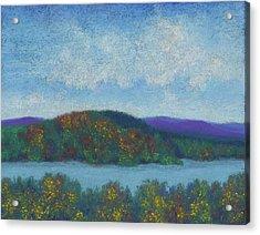 Lake Mahkeenac Acrylic Print
