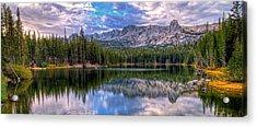 Lake Mamie Panorama Acrylic Print