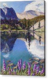 Lake Marie Acrylic Print by Zanobia Shalks