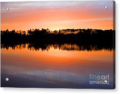 Lake Maumelle Sunset Acrylic Print