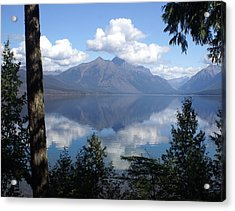 Lake Mcdonald Glacier National Park Acrylic Print