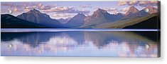 Lake Mcdonald Glacier National Park Mt Acrylic Print by Panoramic Images
