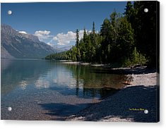 Lake Mcdonald Montana Acrylic Print by Tom Buchanan
