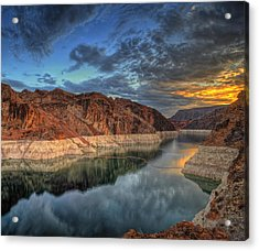 Lake Mead Sunrise Acrylic Print