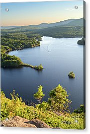 Lake Megunticook, Camden, Maine  -43960-43962 Acrylic Print