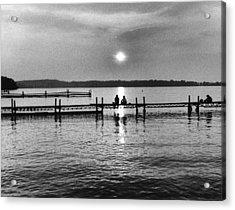 Lake Mendota In Madison Acrylic Print by Arvind Garg