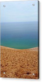 Lake Michigan Colors Acrylic Print by Debra Kaye McKrill