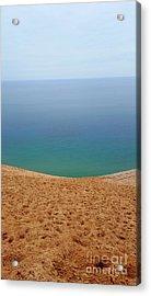 Lake Michigan Colors Acrylic Print