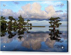 Lake Mirror Acrylic Print